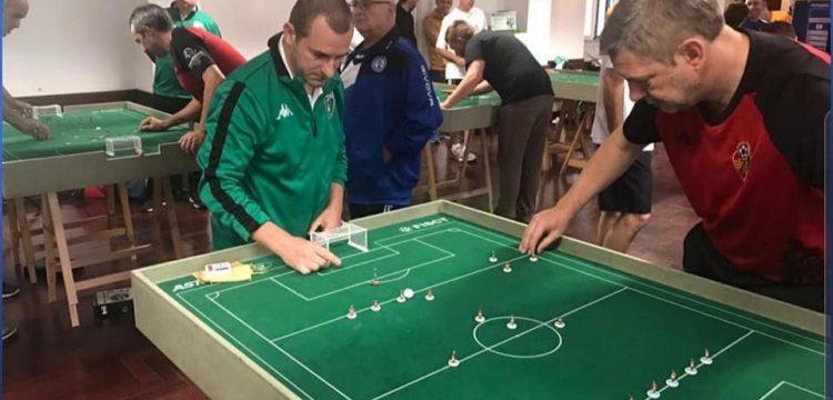 Europa FC-Subbuteo playing