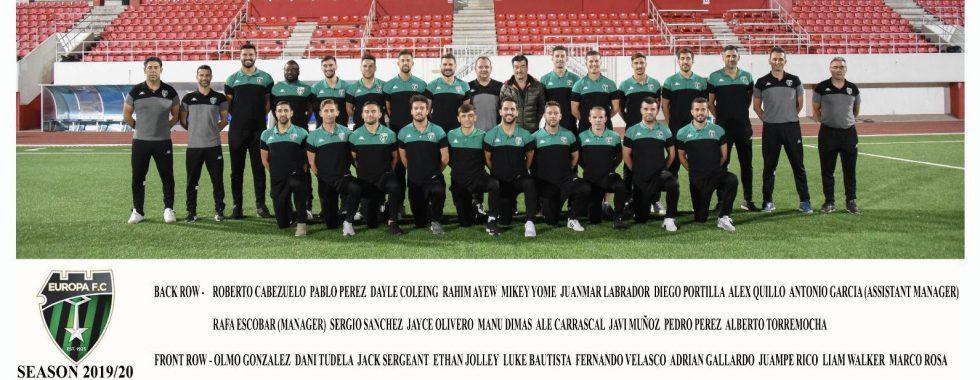 Europa FC- Team 19/10-Gibraltar football