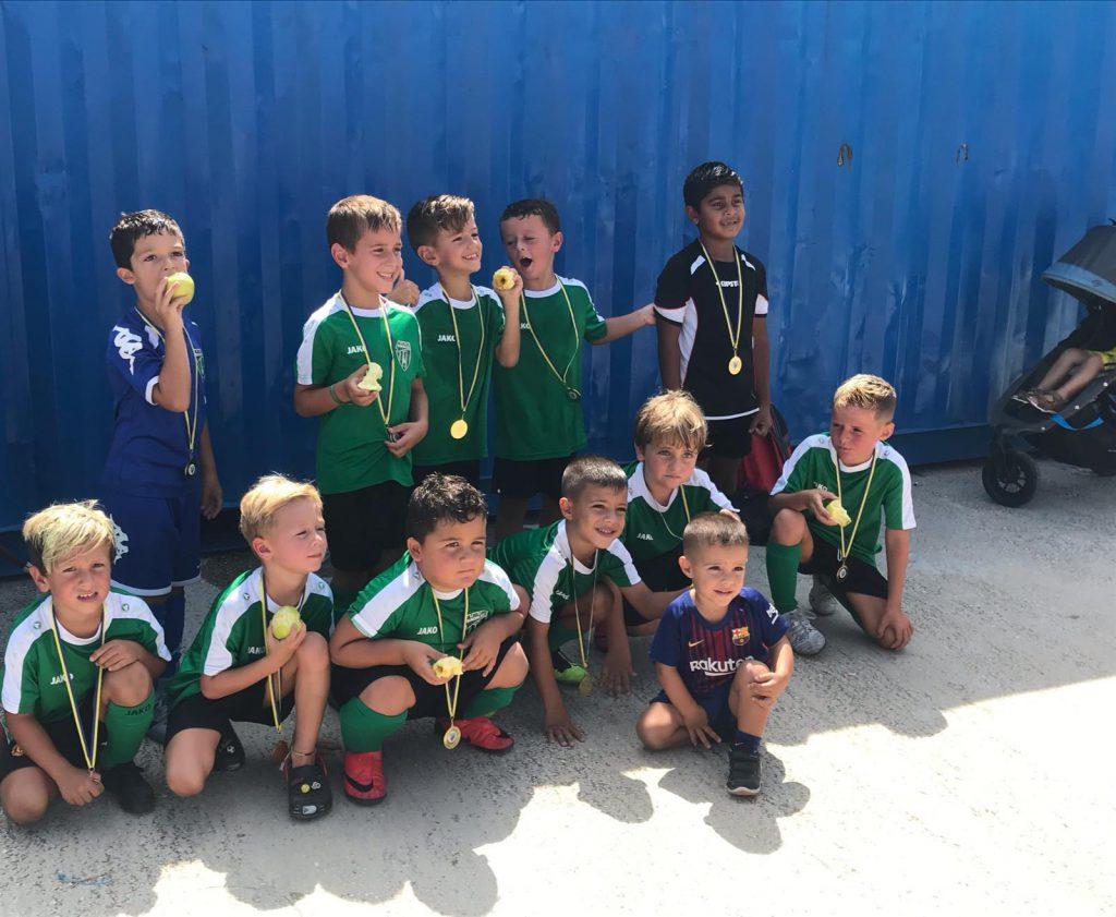Europa FC-Under 6 team