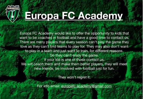 Europa FC Academy-Europa FC.com