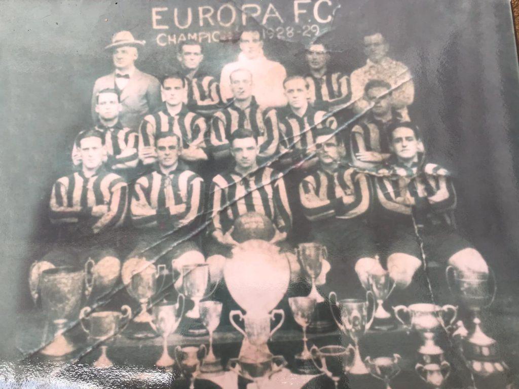 Europa FC 1928/9