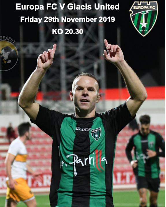 Europa FC v Glacis programme