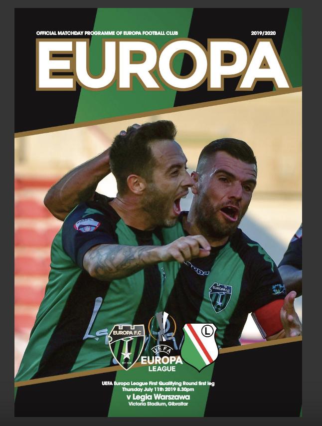 EuropaFC-v-LegiaWarsaw-programme