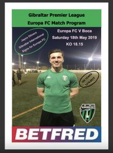 EuropaFC-v-Boca-programme