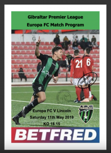 EuropaFC-v-Lincoln-programme