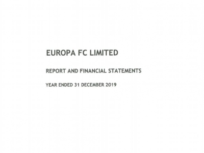 EuropaFC-financial statement 2019